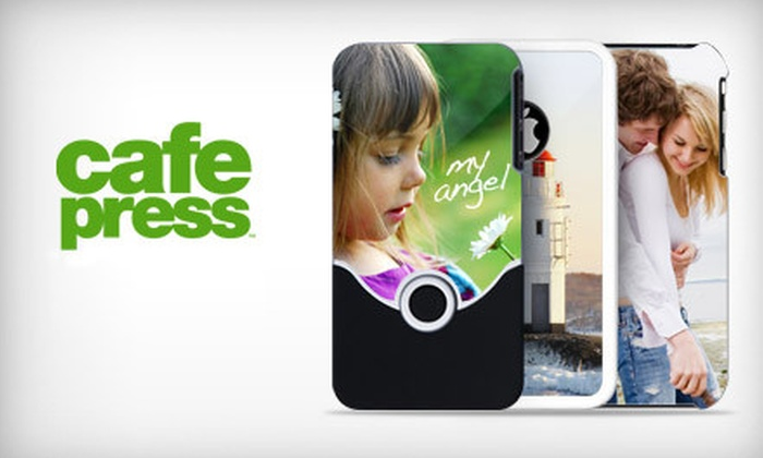 CafePress: $15 for a Custom iPhone 3 or iPhone 4 Case from CafePress ($29.99 Value). Not redeemable until 12/29.
