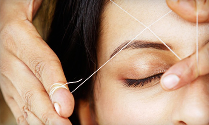 Paris Cut Hair Design - Downtown: One or Three Eyebrow Threadings at Paris Cut Hair Design in Agoura Hills