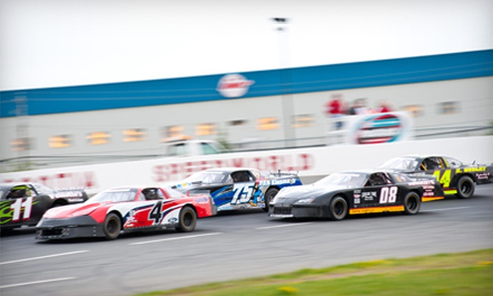 Scotia Speedworld - Goffs: $12 for an Evening at the Stock-Car Race for Two at Scotia Speedworld ($24 Value)