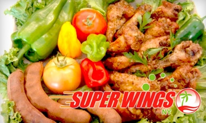 Super Wings NY - Crown Heights: $9 for $18 Worth of Super Wings Combos at Super Wings