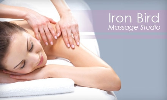 Iron Bird Massage Studio - The Cultural Arts District: $30 for Your Choice of a 60-Minute Massage at Iron Bird Massage Studio ($60 Value)