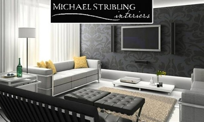 Michael Stribling Interiors - Panther Creek: Michael Stribling interiors $80 for Two Hours of Interior-Design Redecorating from Michael Stribling Interiors
