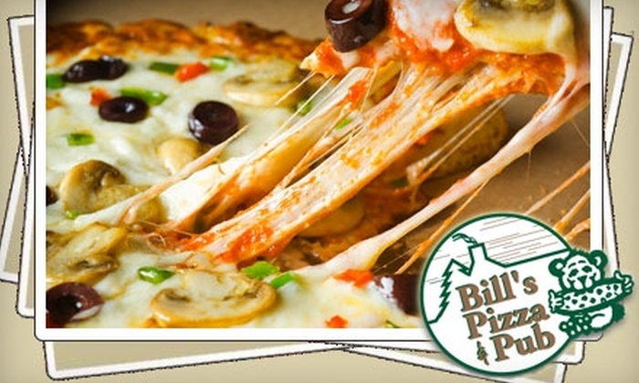 Bill's Pizza & Pub - Multiple Locations: $10 for $20 Worth of Pizza and Drinks at Bill's Pizza & Pub