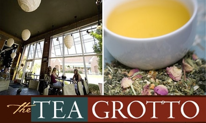 The Tea Grotto - East Central: $5 for $10 Worth of Tea and Baked Goods at The Tea Grotto