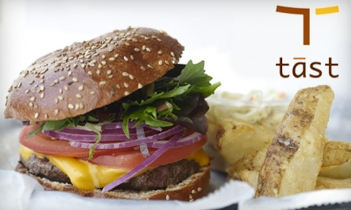 Tast Eatery - Fort Lee: $10 for $20 Worth of Locally Sourced Fare and Drinks at Tast Eatery