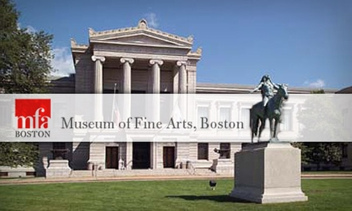 Boston museum of fine arts discount coupons