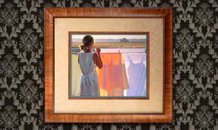Kelley Frame and Fine Art Galleries - Multiple Locations: Custom Framing at Kelley Frame and Fine Art Galleries. Two Options Available.