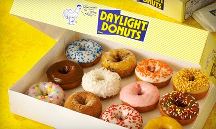 Daylight Donuts - Central Topeka 1: $4 for One-Dozen Donuts at Daylight Donuts ($7.20 Value)