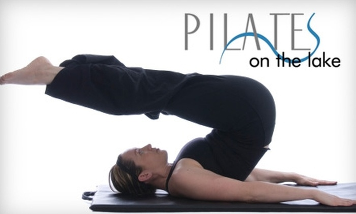 Pilates on the Lake - Multiple Locations: $50 for 10 Mat Classes at Pilates on the Lake ($130 Value)