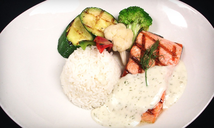 Redbar Lounge - North Arm South: Prix-Fixe Meal for One or Two or $25 for $50 Worth of Lounge Fare at Redbar Lounge in New Westminster