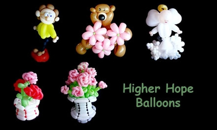 Higher Hope Balloons - Arnold: $30 for Balloon Art Class at Higher Hope Balloons ($70 Value)