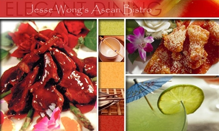 Jesse Wong's Kitchen - Baltimore: $10 for $25 Worth of Pan-Asian Cuisine and Drinks at Jesse Wong's Kitchen
