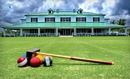 1-Month Croquet Membership (a $100 value) - National Croquet Center in West Palm Beach