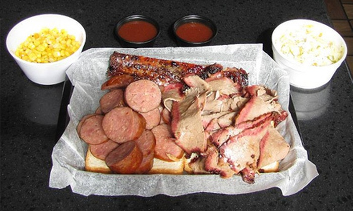 McGuire's Smokehouse - Saddlewood Apartments: Barbecue, Homestyle Sides, and Pours for Lunch or Dinner at McGuire's Smokehouse in Olathe (Up to 53% Off)