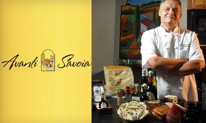 Avanti Savoia - 7: $22 for Your Choice of a Cooking Class at Avanti Savoia