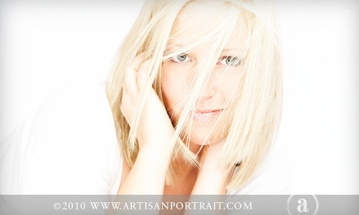 "Artisan Portrait - Post Falls: $49 for a Deluxe In-Studio Family-Portrait Session and a 5""x7"" Print with Custom Frame at Artisan Portrait in Post Falls ($307 value)"