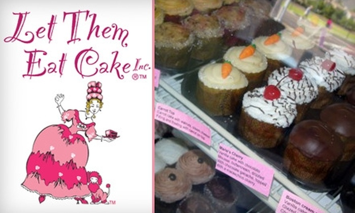 Let Them Eat Cake Inc. - Camelback East: $18 for a Dozen Cupcakes at Let Them Eat Cake Inc. ($36 Value)