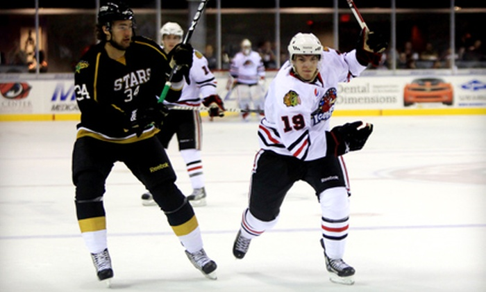 Rockford IceHogs - Rockford: $49 for a Rockford IceHogs Hockey Outing for Four at BMO Harris Bank Center (Up to $99 Value)