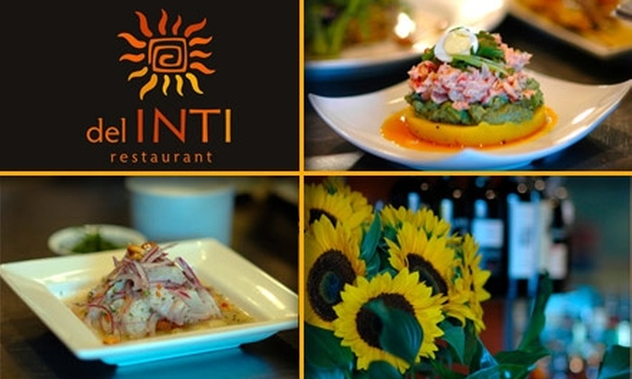 Del Inti Restaurant - Concordia: $15 for $35 Worth of Northwest–Peruvian Fusion Fare at del Inti Restaurant