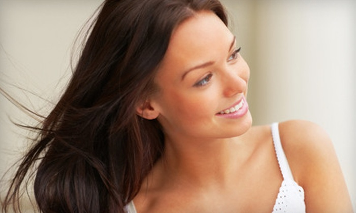 Scarlett Salon & Spa - Elk Grove: $20 for Haircare Package with Cut, Deep Conditioning, and Style at Scarlett Salon & Spa in Elk Grove (Up to $55 Value)