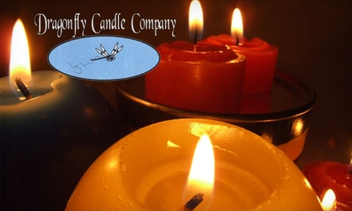 Dragonfly Candle Company - Lincoln: $7 for $15 Worth of Candles, Incense, and More at Dragonfly Candle Company