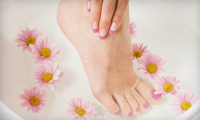 Dominick's Hairstylists' - Greenbelt: $22 for a Mani-Pedi at Dominick's Hairstylists' in College Park ($45 Value)
