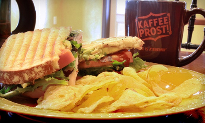 Kaffee Prost! - Adamstown: $5 for $10 Worth of Café Fare at Kaffee Prost! in Adamstown