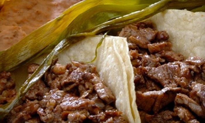 Villa y Zapata Restaurant - Eastside El Paso: $10 for $20 Worth of Mexican Fare at Villa y Zapata Restaurant