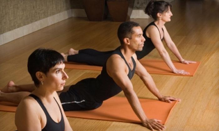 Yoga Balance Studio - McKinney: $45 for One Month of Unlimited Yoga and Zumba Classes at Yoga Balance Studio in McKinney ($110 Value)