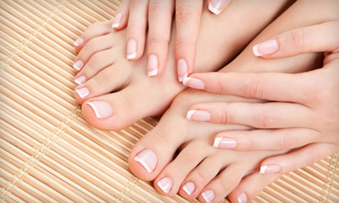 Allure Salon - Oakland/Winchell: Spa Mani-Pedi or Haircut and Color from Janice Tarchala at Allure Salon