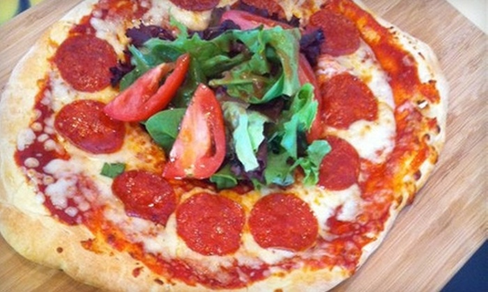 Pizza ChaCha - Fort Wood Neighborhood Association: $10 for $20 Worth of Pizza at Pizza ChaCha or $2 for $4 Worth of Beverages and Snacks at Jitterz Coffee