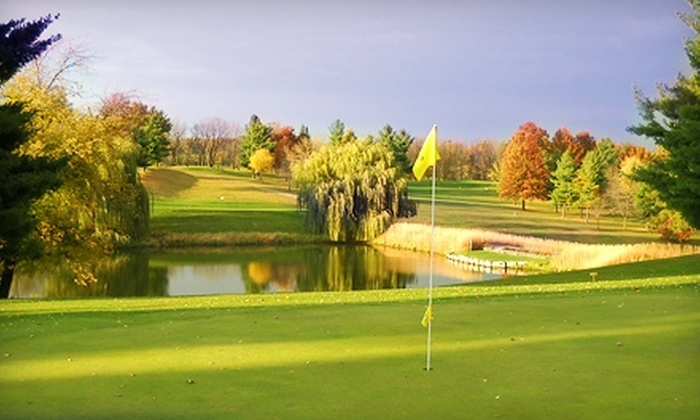 Kalona Golf Course - English River: $29 for 18 Holes of Weekend Golf for Two Plus Cart Rental ($58 Value) or $24 for Weekday Golf ($48 Value) at Kalona Golf Club