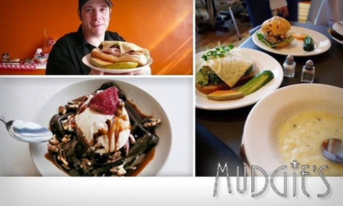 Mudgie's - Downtown: $7 for $15 Worth of Delectable Deli Fare and Drinks at Mudgie's Deli