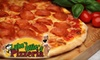 Luke 'n Ollie's Pizzeria - Isle of Palms: $7 for $15 Worth of Hand-Tossed Pizza and More at Luke 'n Ollie's Pizzeria in Isle of Palms
