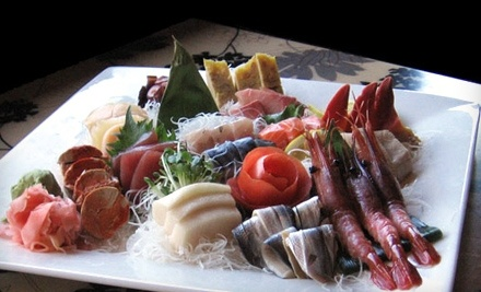 $30 Dinner Groupon to Narita Japanese Restaurant & Sushi Bar - Narita Japanese Restaurant & Sushi Bar in Plainfield