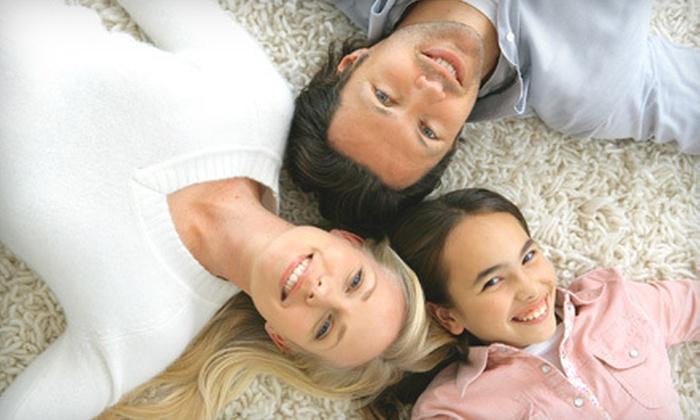 Heaven's Best Carpet Cleaning - San Buenaventura (Ventura): Carpet Cleaning for Four Rooms with Optional Sofa Cleaning from Heaven's Best Carpet Cleaning (Up to 52% Off)