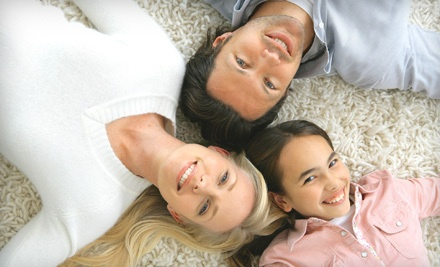 4 Rooms of Carpet Cleaning - Heaven's Best Carpet Cleaning in