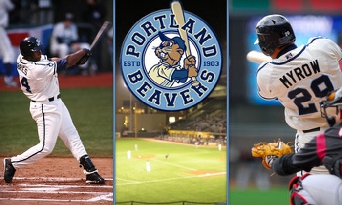 Portland Beavers  - Goose Hollow: $14 for Two Tickets to a Portland Beavers Game ($31 Value). Buy Here for Saturday, April 10, at 7:05 p.m. vs. Sacramento River Cats. See Below for Additional Games.