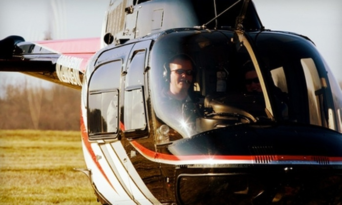 Wesson Aviation - Oxford: $175 for Discovery Helicopter Flying Lesson at Wesson Aviation in Anniston ($350 Value)