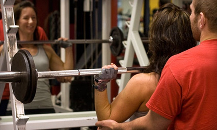 Brit's Brothers Gym - Pleasantburg: $55 for Five Personal-Training Sessions and 30 Days of Unlimited Boot-Camp Classes at Brit's Brothers Gym ($299 Value)