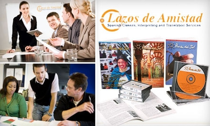 Lazos de Amistad - Dupont Circle: $35 Spanish Immersion Language Workshop at Lazos de Amistad ($65 Value)