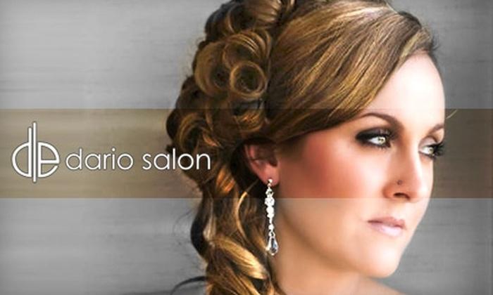 Dario Salon - Village: $49 for $125 Worth of Hair Services at Dario Salon