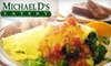 Michael D's Eatery - Glenmore: $8 for $16 Worth of Hearty Breakfast and Lunch Fare at Michael D's Eatery