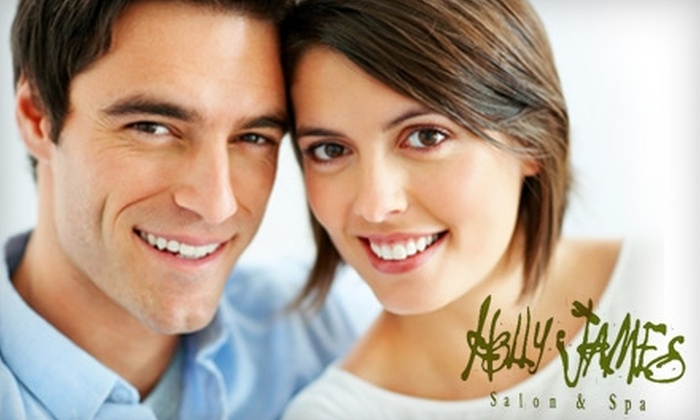 Holly James Salon and Spa - Moss Bay: $35 for a Women's Haircut and Deep Conditioning ($75 Value) or $15 for a Men's Haircut ($30 Value) from Holly James Salon and Spa in Kirkland