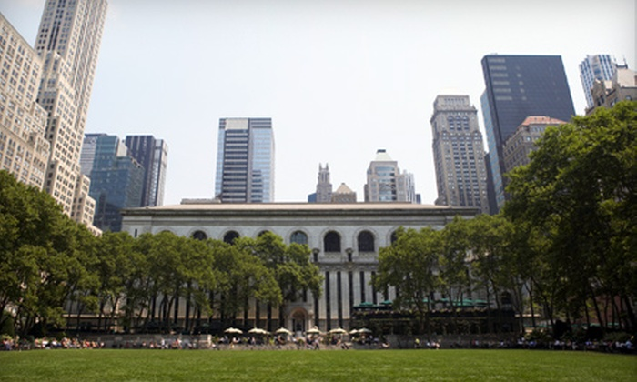NYC GoGreen Tours - Multiple Locations: $12 for Two Hour Walking Tour of Your Choice - Architectural, Pop Culture, or Historical ($25 Value). $22 for Two People ($50 Value).