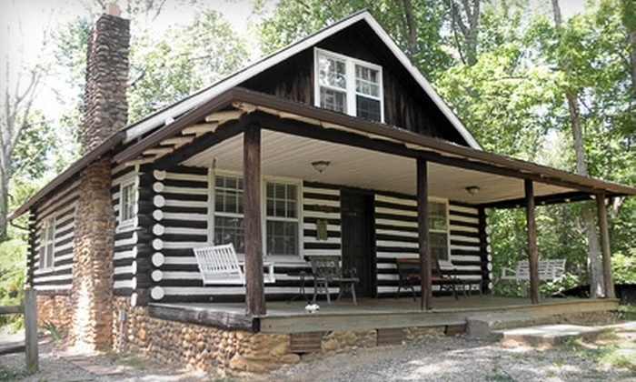 Nolichuckey Bluffs Cabins - 4: $120 for Three-Day, Two-Night Stay in a Two-Bedroom Cabin with Two Breakfasts for Two at Nolichuckey Bluffs Cabins in Greeneville