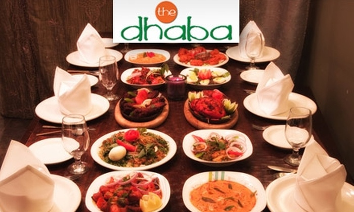 The Dhaba - Alegre Community: $20 for $40 Worth of Authentic Indian Cuisine at The Dhaba