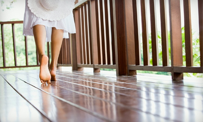 Water Works Atlanta - Atlanta: Small, Medium, or Large Deck Cleaning with Sealing or Staining from Water Works Atlanta (Up to 58% Off)