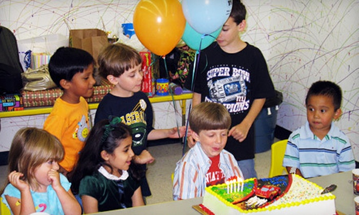 Imagine That!!! Children's Museum - Florham Park: $139 for Jungle-Theme Birthday Party for Up to 10 Kids at Imagine That!!! Children's Museum in Florham Park (Up to $342.39 Value)