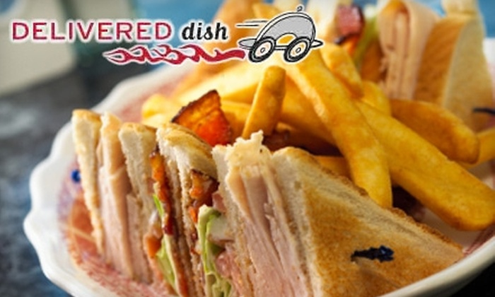 Delivered Dish: $15 for $30 Worth of Delivered Restaurant Meals from Delivered Dish